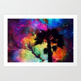 Space Cali Art Print