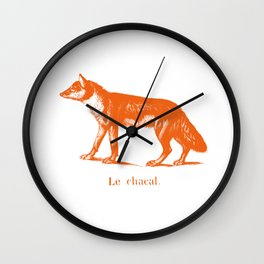Le Chacal Wall Clock