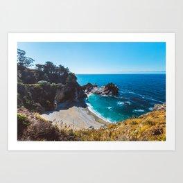 McWay Falls, Big Sur, California Art Print