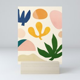 Abstraction_Floral_001 Mini Art Print