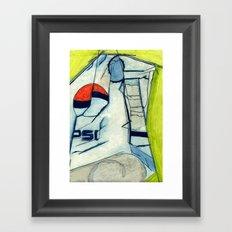 Pepsi Framed Art Print