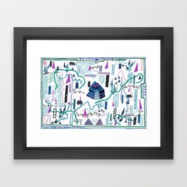 Gauntlet(s), I Framed Art Print