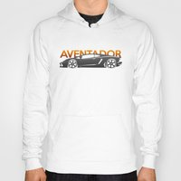 lamborghini Hoodies featuring Lamborghini Aventador by Vehicle