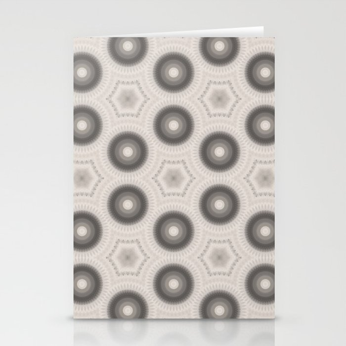 Fractal Cogs n Wheels in CMR01 Stationery Cards
