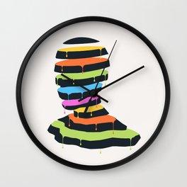 Mr. Sliced Wall Clock