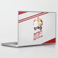 rebel Laptop & iPad Skins featuring Rebel by Tony Vazquez