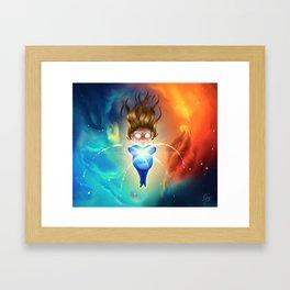 Star Maker Framed Art Print