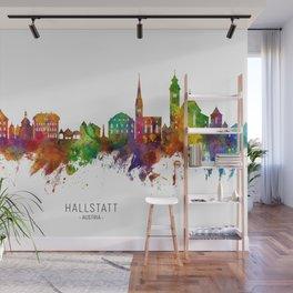 Hallstatt Austria Skyline Wall Mural