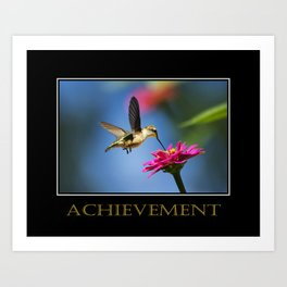 Inspirational Achievement Art Print
