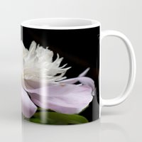 peony Mugs featuring Peony  by Maria Rose Collection
