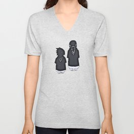 Duo Uchiha Unisex V-Neck