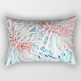 Tropical abstract(12) Rectangular Pillow