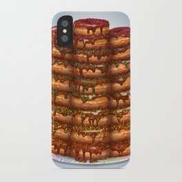 Donuts III 'sparkles&chocolate' iPhone Case