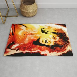 Tina - Queen of Rock and Roll - Turner - Pop Art Rug