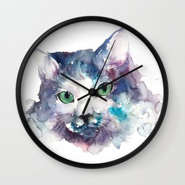 cat#19 Wall Clock
