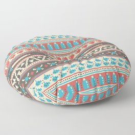 Fair-Hyle Knit Floor Pillow