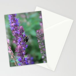 Lavender Bumblebee Stationery Cards