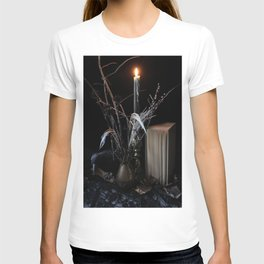 The Raven and the Departed Bouquet T-shirt