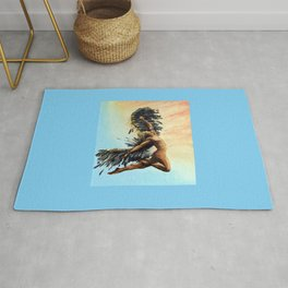 Season of the Legend - Icarus Descending Rug
