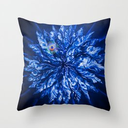 Resting - Point Throw Pillow