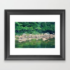 Where the Water Sprites Play Framed Art Print