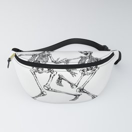 Dancing Skeleton Couple Fanny Pack