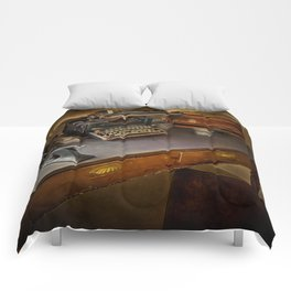 Vintage Writers Corner Comforters