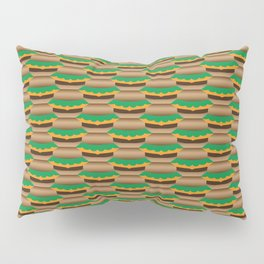 Cheeseburger Tessellation Pillow Sham