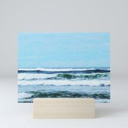 Oregon Coast Waves Mini Art Print