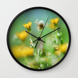 Spring colors Wall Clock