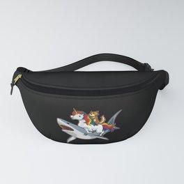 Shark Unicorn Cat - Awesome Friendship Fanny Pack