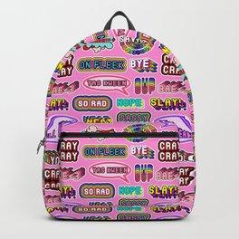 """Pattern #3 """"YOLO"""", """"Slay!"""", """"Hell Yeah"""", """"Yas Kween"""", etc. Backpack"""