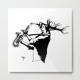 AniMusic (DEER) Metal Print