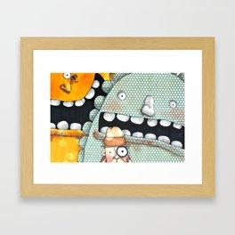 Inspector Framed Art Print
