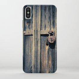 Padlock II iPhone Case