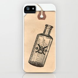 Old But Gold Bottle Stamp Hang Tag  iPhone Case