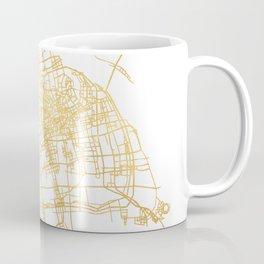 SHANGHAI CHINA CITY STREET MAP ART Coffee Mug