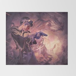 Dragons of Dorcastle Throw Blanket