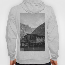 House on Water (Black and White) Hoody