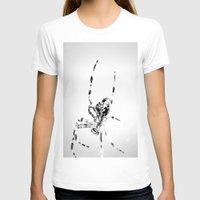 spider T-shirts featuring Spider by Fine2art