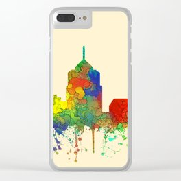 Roanoke, Virginia Skyline - SG Clear iPhone Case