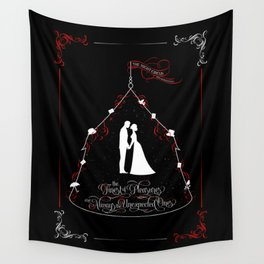 The finest of pleasures are always the unexpected ones. The Night Circus Wall Tapestry