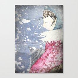 Winter Princess Canvas Print