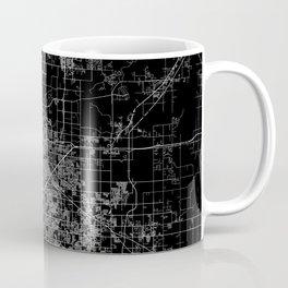 Tulsa map Oklahoma Coffee Mug