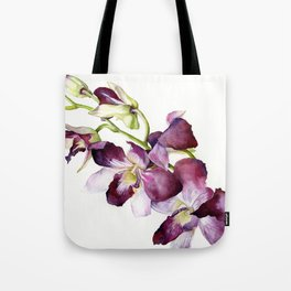 Radiant Orchids: Magenta Dendrobiums (Flipped Orientation) Tote Bag