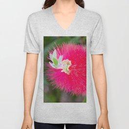 Bottlebrush Flower by Reay of Light Unisex V-Neck