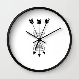 Triple Clutch Wall Clock