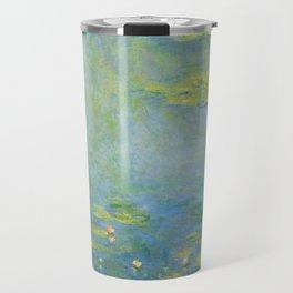 "Claude Monet ""Water Lilies"" (10) Travel Mug"
