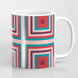Mid century gingham #homedecor #midcenturydecor Coffee Mug