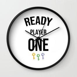 ready player one lock Wall Clock